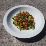 France-Légumes d'été sautés aux lardons